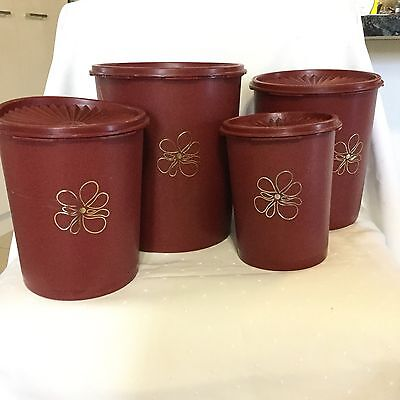 Tupperware Kitchen Canisters