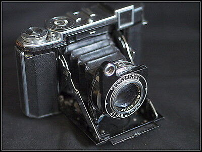 Zeiss Ikon Super Ikonta 532/16 Camera. Tessar Zeiss Opton Lens. Case