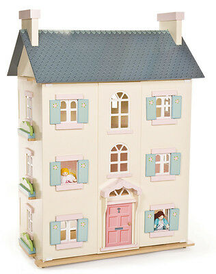 Brand NEW Le Toy Van Cherry Tree Hall Wooden Doll House