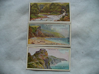 Cigarette Cards Players Gems Of British Scenery Full Set