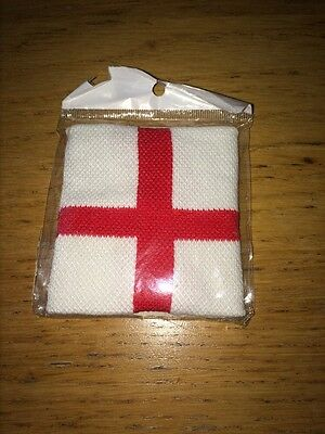 BNIP England Flag Arm Wrist Sweat Band Sweatband  Football Sports Tennis