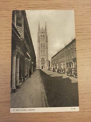 St. Mary's Church, Taunton, Somerset Postcard