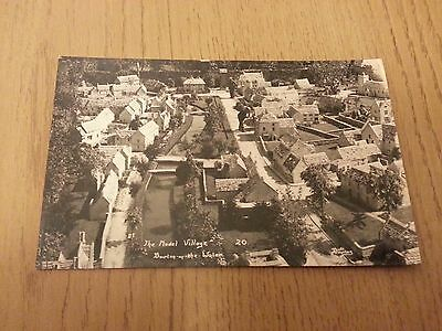 The Model Village, Bourton on the Water, Gloucestershire Postcard
