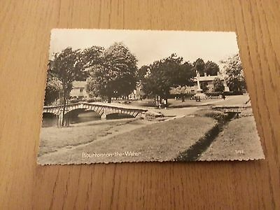 Canal, Bourton on the Water, Gloucestershire Postcard