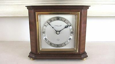 Elliott Mahogany Case Mantel Clock Fully Working