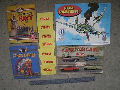 A Collection Of Comic Free Gifts - Warlord, Rover, Vulcan, Wizard