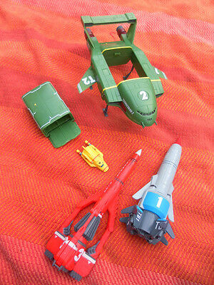 Thunderbirds Collection Rockets T 1,2,3 And 4 Talking Toys Itv