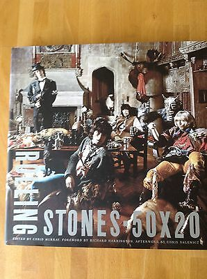 The Rolling Stones 50 X 20 Book