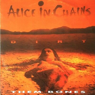 "Alice in Chains - Them Bones 7"" Promo SPAIN"