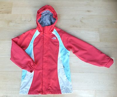 North Face ** Girls Walking Outdoor  Hyvent Coat Jacket L/g Age 14 - 16 Years 15