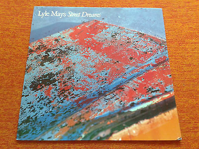 Lyle Mays Street Dreams Bill Frisell Geffen Records german pressing