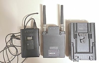 Sony WRR-855A UHF receiver 68+ WRT-822A  transmitter + CA-WR855 adapter, CH/68
