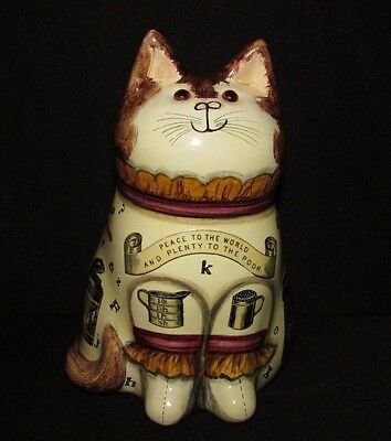 Joan and David De Bethel Rye Sussex. Decoupage 'Kitchen' Cat. 1991 7.25""