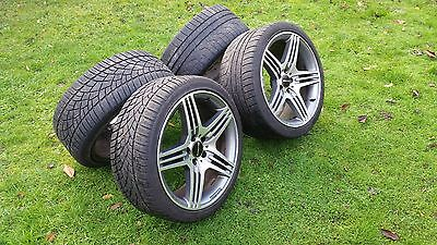 """GENUINE Mercedes Benz AMG 19"""" Alloy Wheels with WINTER TYRES"""