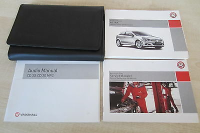 VAUXHALL ASTRA 2004-2010 Owners Manual Handbook & SERVICE BOOK with Wallet Pack