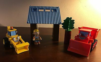 Bob The Builder Bobsville Magnetic Building Set Scoop & Muck Construction Play