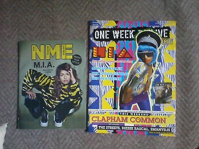 M.i.a - Cover Mags And Features