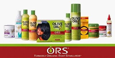 Organic Olive Oil Hair Care Product By Organic Root Stimulator / Ors
