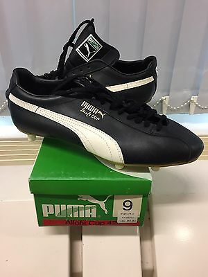 Vintage PUMA Allofs Cup. Made In West Germany. UK 9. Football Soccer Fußball