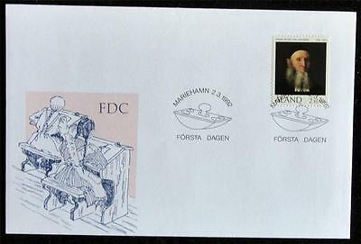 Aland 1992 'Frans Peter von Knorring' First Day Cover