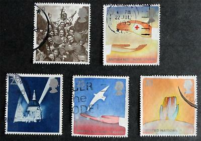 Great Britain 1995 'Europa - Peace and Freedom' SG1873/1877 Used Set