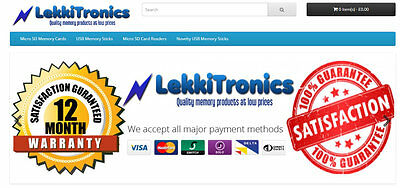 Online Memory Card Website Business For Sale With Stock Make £1500 a Month!