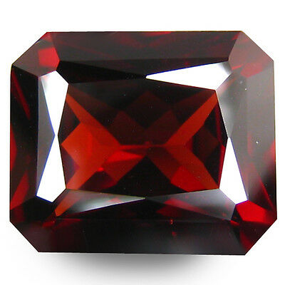 3.85Cts! Extraordinary Natural Top Luster Garnet From Africa Loose Gemstone