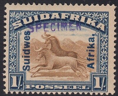 South West Africa 1927 1s SG51s, Hand Stamped SPECIMEN. MNH Unmounted