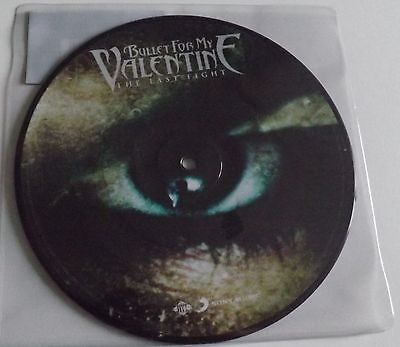 """Bullet For My Valentine The Last Fight 7"""" Vinyl Picture Disc"""