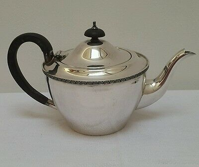 A Beautiful Art Deco Silver Plated Teapot by George Wish Sheffield