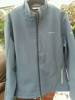 Craghoppers Ladies Softshell Windstopper jacket in aqua blue18/20 *