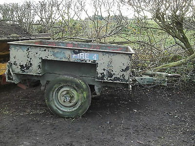 Sankey Trailer, Military, Narrow Track,army