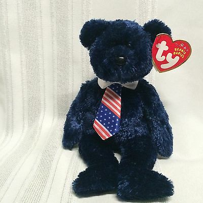 Ty Beanie Babies Bear - Pops  - June 16 2001