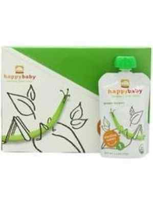 Happy Baby Stage1 Green Beans Org, 3.5 Oz