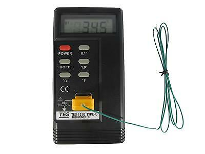 Digital LCD Handheld Thermometer for K Type Thermocouple in Fahrenheit / Celcius