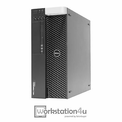 Dell Precision T3600 Workstation Xeon E5-1650 16GB RAM Quadro 600 2TB HDD Win 7