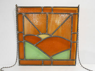 Stained Glass Panel 12x12 Sun Catcher