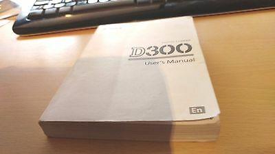 Original NIKON D300 CAMERA INSTRUCTION MANUAL USER GUIDE 421  PAGES  ENGLISH