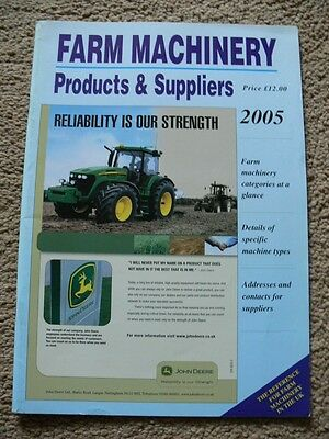 Farm Machinery Products & Suppliers. 2005. Reference Manual