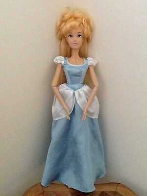 """Disney Store Official 17"""" Large Singing Cinderella Doll - Lovely Long Hair"""
