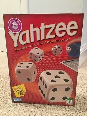 Yahtzee:  Board Game - The Classic Shake, Score & Shout Dice Game!  NEW SEALED