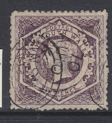 New South Wales 1854 Sg 96 good used