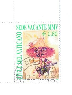 Vatican City - Sede Vacante Collection  2005 Complete Set - 3 Stamps used