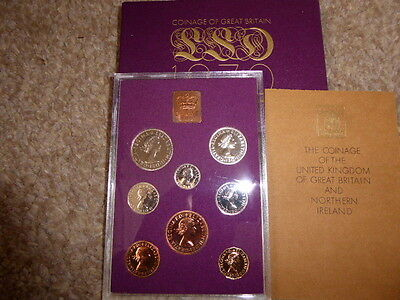 1970 8 Proof Coin Set