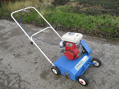 BOB ANDREWS LAWN DOCTOR LAWN SCARIFIER moss removal honda petrol engine