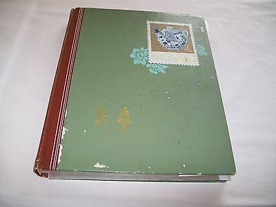 """""""old"""" Stamp Album [Approx 70 Stamps]"""
