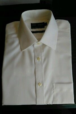 """Marks & Spencer Long Sleeve Pure Cotton White Shirt , Collar 14.5"""" , Bnwt"""