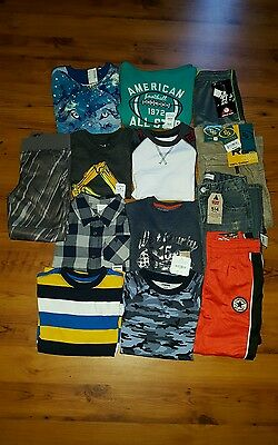 NWT Boys ~Size 5-6, 6~ Fall/ Winter Clothes Lot Pants L/S Shirts Sweaters