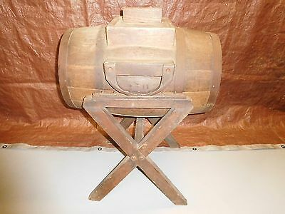 Early 20th Cent. Buckeye Churn Co. Wooden Swivel/Rocking Butter Churn w/ Stand