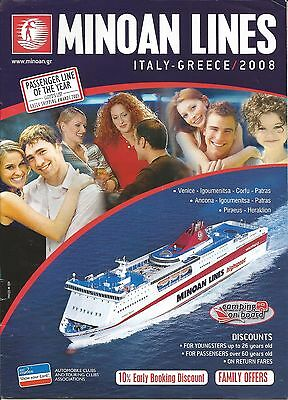 Minoan Lines (Italy - Greece) ferry guide 2008